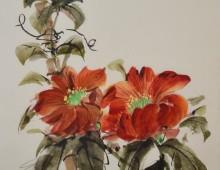 Flowers & Bamboo